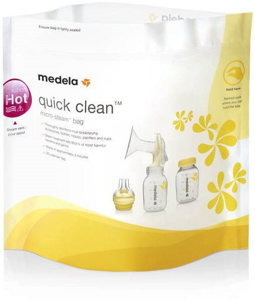 MEDELA Quick Clean - 5 ks - Sáčky na mateřské mléko
