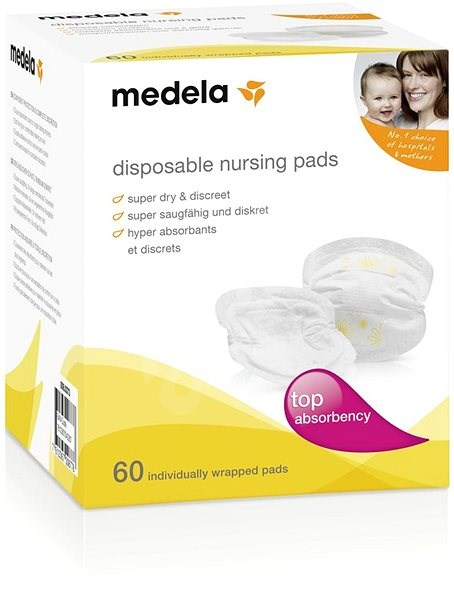 MEDELA One-piece breast pads - 60 pcs - breast pads