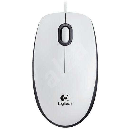 Logitech Mouse M100 bílá - Myš