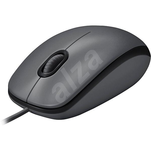 Logitech Mouse M100 šedá - Myš