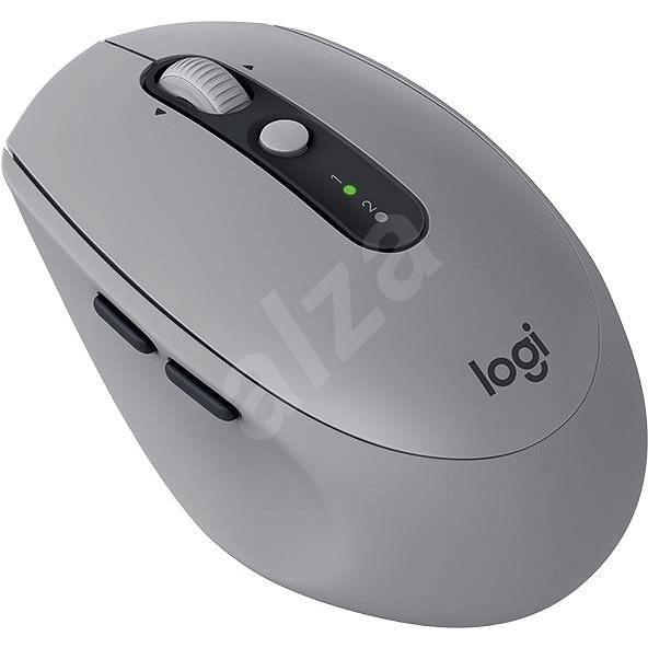 Logitech Wireless Mouse Silent M590 šedá - Myš