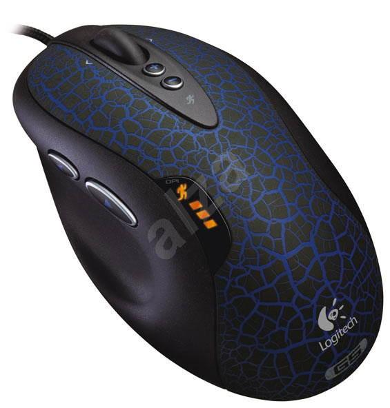Logitech G5 Laser Mouse Dark Blue - Myš