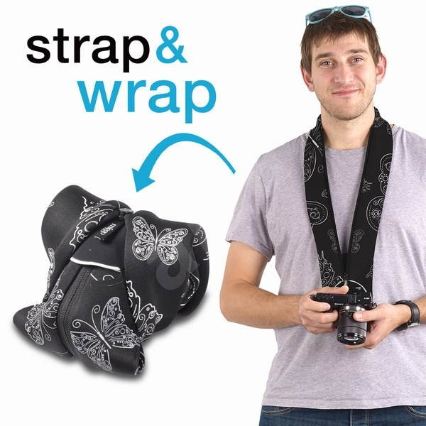 Miggo Strap&Wrap CSC Royal Wings - Popruh na fotoaparát