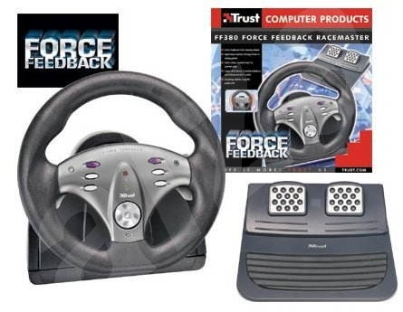 Volant TRUST FF380 Force Feedback RaceMaster -