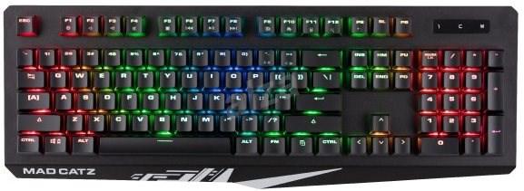 Mad Catz S.T.R.I.K.E.4  US layout  - Herní klávesnice