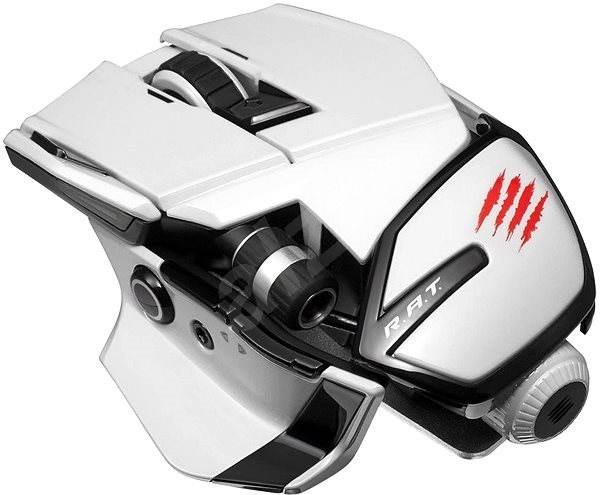 Mad Catz Office R.A.T. bílá - Herní myš