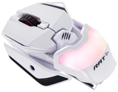 Mad Catz R.A.T. 2+ bílá - Herní myš