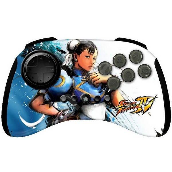 MAD CATZ PS3 Licensed Street Fighter IV Chun-Li - Gamepad
