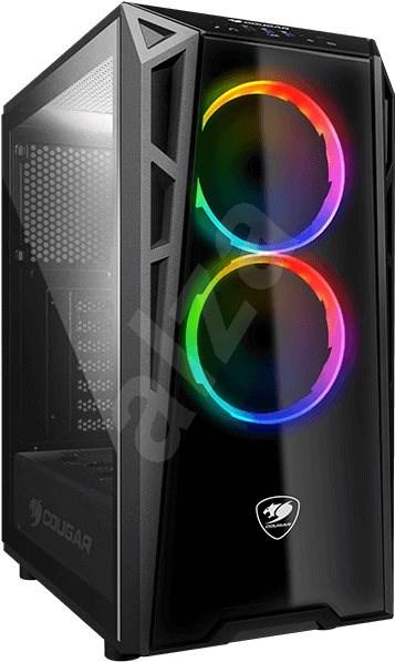 Cougar Turret RGB - Počítačová skříň