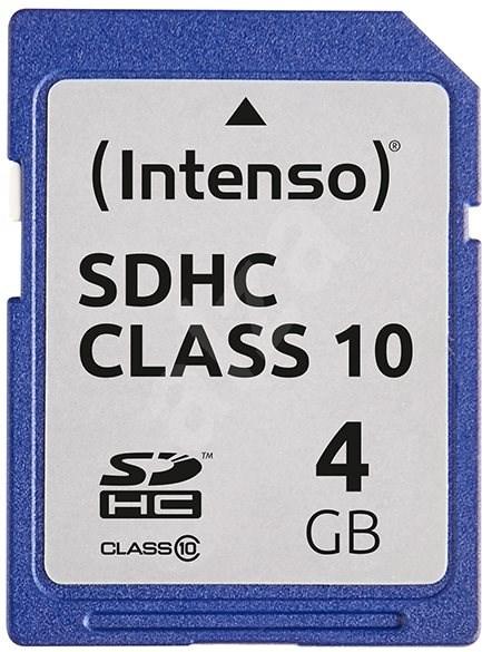 Intenso SD Card Class 10 4GB SDHC - Paměťová karta