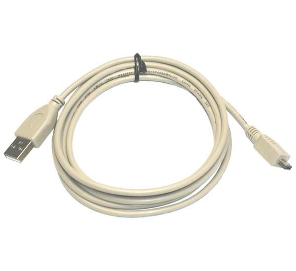 OEM USB A-MINI 4-pin Hirose 1.8m  - Datový kabel