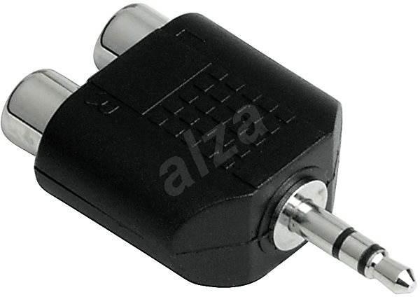Hama audio 3.5mm jack - 2 cinch zásuvky - Redukce