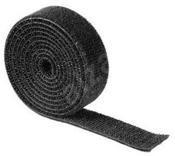 Univerzální stahovací páska 1m černá - Organizace kabelů