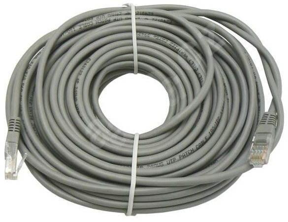 Datacom CAT6, UTP, 40m šedý - Síťový kabel