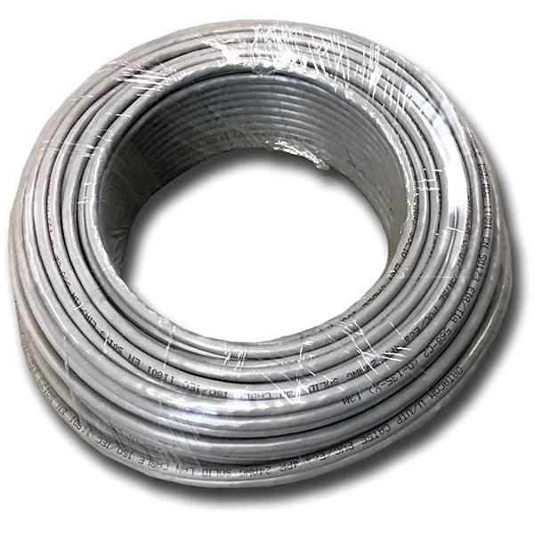 Datacom drát, CAT5E, UTP, 50m - Síťový kabel