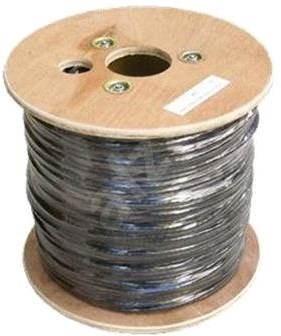 Datacom drát, CAT6, UTP, PE venkovní, 500m/cívka - Síťový kabel