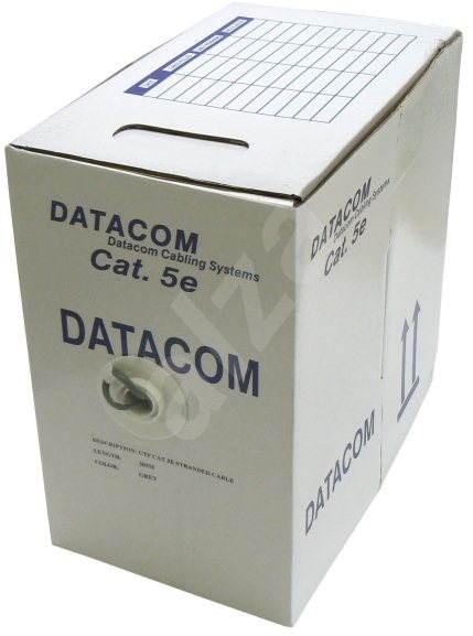 Datacom licna (lanko), CAT5E, UTP, 305m/box - Síťový kabel