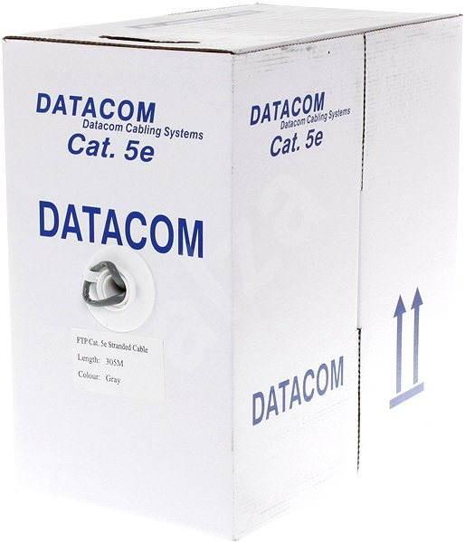 Datacom licna (lanko), CAT5E, FTP, 305m/box - Síťový kabel