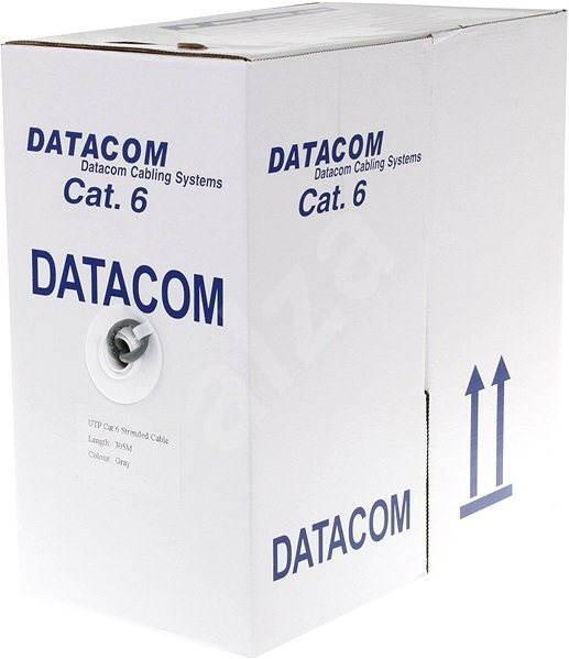 Datacom licna (lanko), CAT6, UTP, 305m/box - Síťový kabel