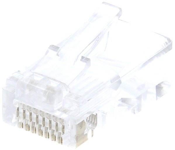 Datacom 10-pack RJ45, CAT5E, UTP, 8p8c, na licnu (lanko) - Konektor