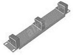 """Datacom 10"""" vyvazovací 1U - Panel"""