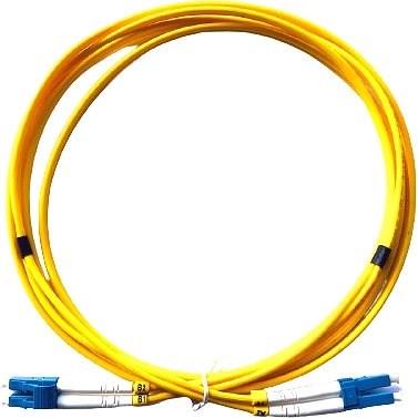 Datacom LC-LC 09/125 SM 3m duplex - Optický kabel