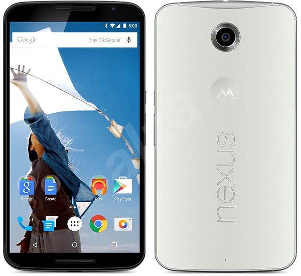 Motorola Nexus 6 Cloud White - Mobilní telefon