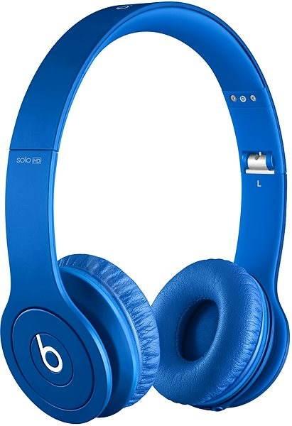 Beats by Dr.Dre Solo HD Monochromatic, modrá - Sluchátka