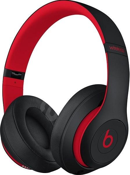 Beats Studio3 Wireless - vyvzdorovaná černo-červená - Bezdrátová sluchátka