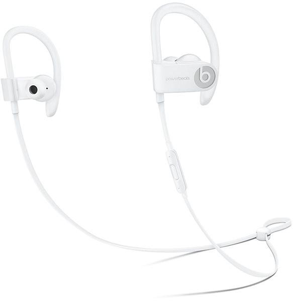 Beats PowerBeats3 Wireless - bílá - Sluchátka s mikrofonem