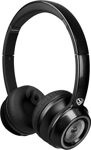 MONSTER NTune On Ear Solid černá - Sluchátka