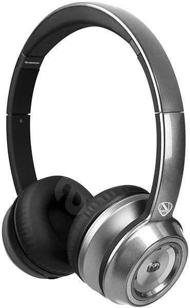 MONSTER NTune On Ear Solid stříbrná - Sluchátka