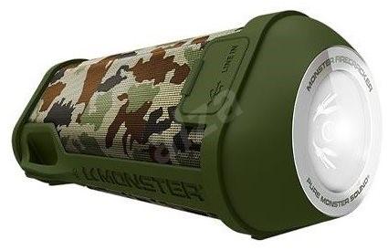 Monster SuperStar Firecracker Bluetooth khaki - Bluetooth reproduktor