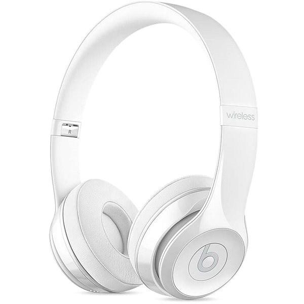 Beats Solo3 Wireless - bílá - Bezdrátová sluchátka
