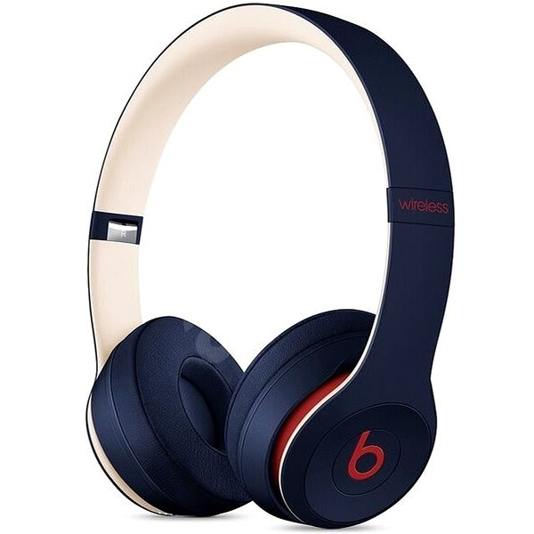 Beats Solo3 Wireless - Beats Club Collection - Club modrá - Bezdrátová sluchátka