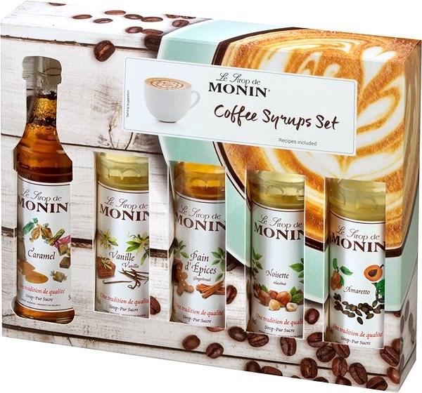 MONIN COFFEE BOX MINI 5 x 0,05 l - Příchuť