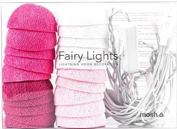 MOSH LED Fairy Lights Světýlka Marshmallow - Dekorativní osvětlení