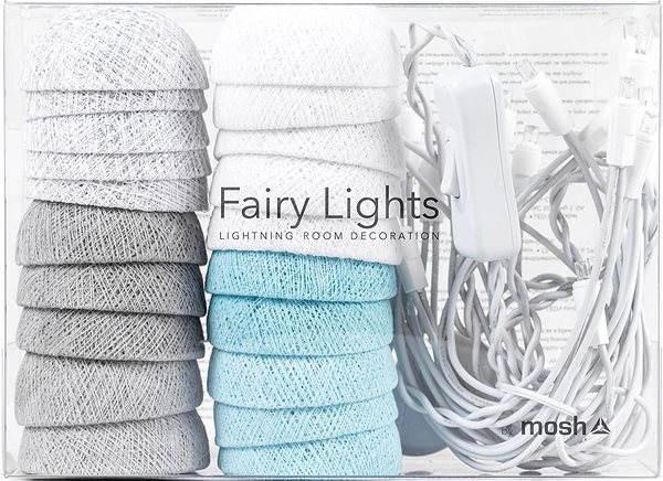 MOSH LED Fairy Lights Světýlka Sněhová Vločka - Dekorativní osvětlení