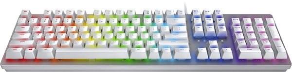 Razer Huntsman - US Layout - Mercury - Herní klávesnice