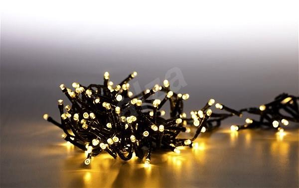 Marimex Řetěz světelný 200 LED dvojitý 2 m - teplá bílá - Vánoční osvětlení