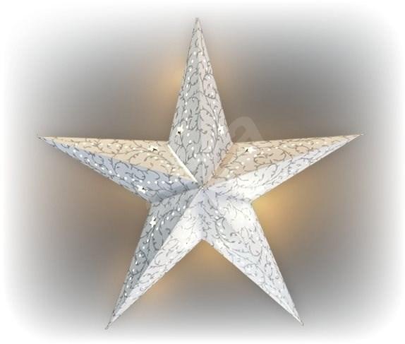 Marimex Hvězda svítící LED papírová - Vánoční osvětlení
