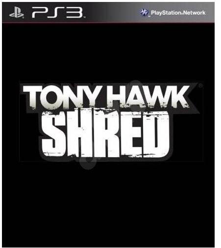 PS3 - Tony Hawk Shred + Board - Hra pro konzoli