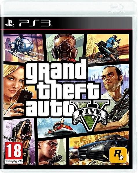 PS3 - Grand Theft Auto V - Console Game