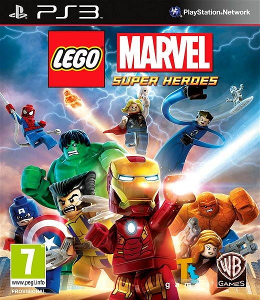 LEGO Marvel Super Heroes - PS3 - Console Game