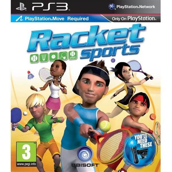 PS3 - Racket Sports (MOVE Edition) - Hra pro konzoli