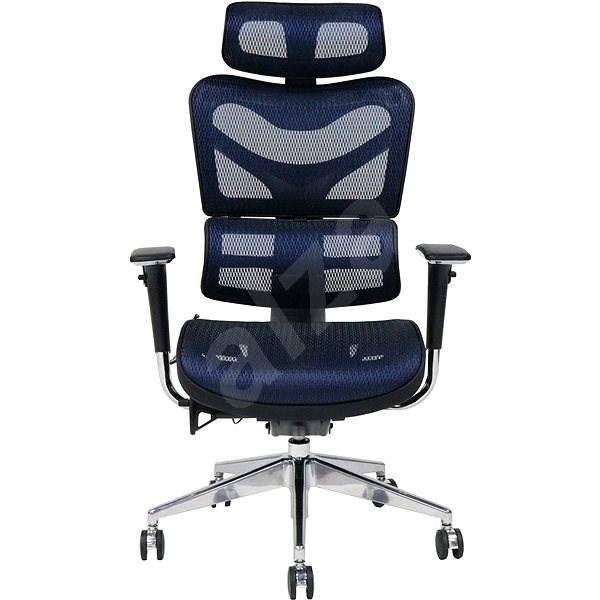 MOSH BS-702 modrá - Kancelářská židle