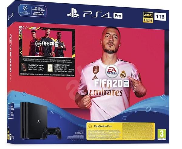 PlayStation 4 Pro 1TB + FIFA 20 - Herní konzole