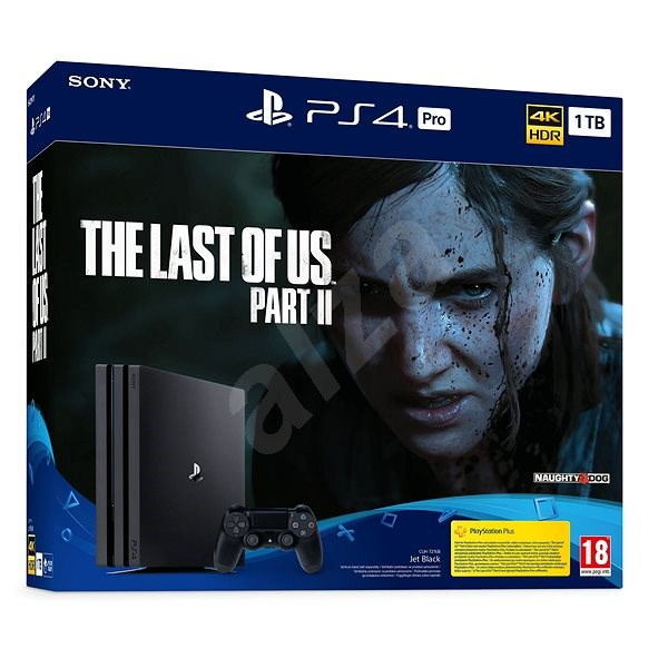 PlayStation 4 Pro 1TB + The Last Of Us Part II - Herní konzole