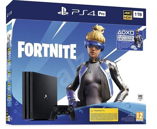 PlayStation 4 Pro 1TB + Fortnite - Herní konzole