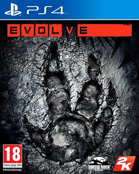 Evolve - PS4 - Hra na konzoli
